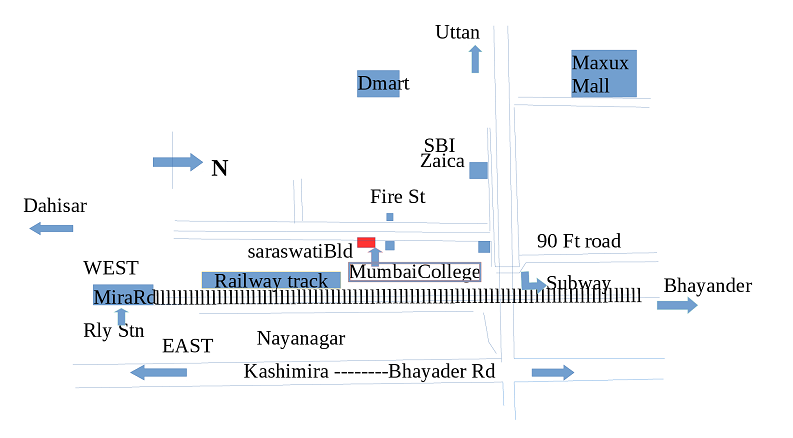 Mumbai College Map